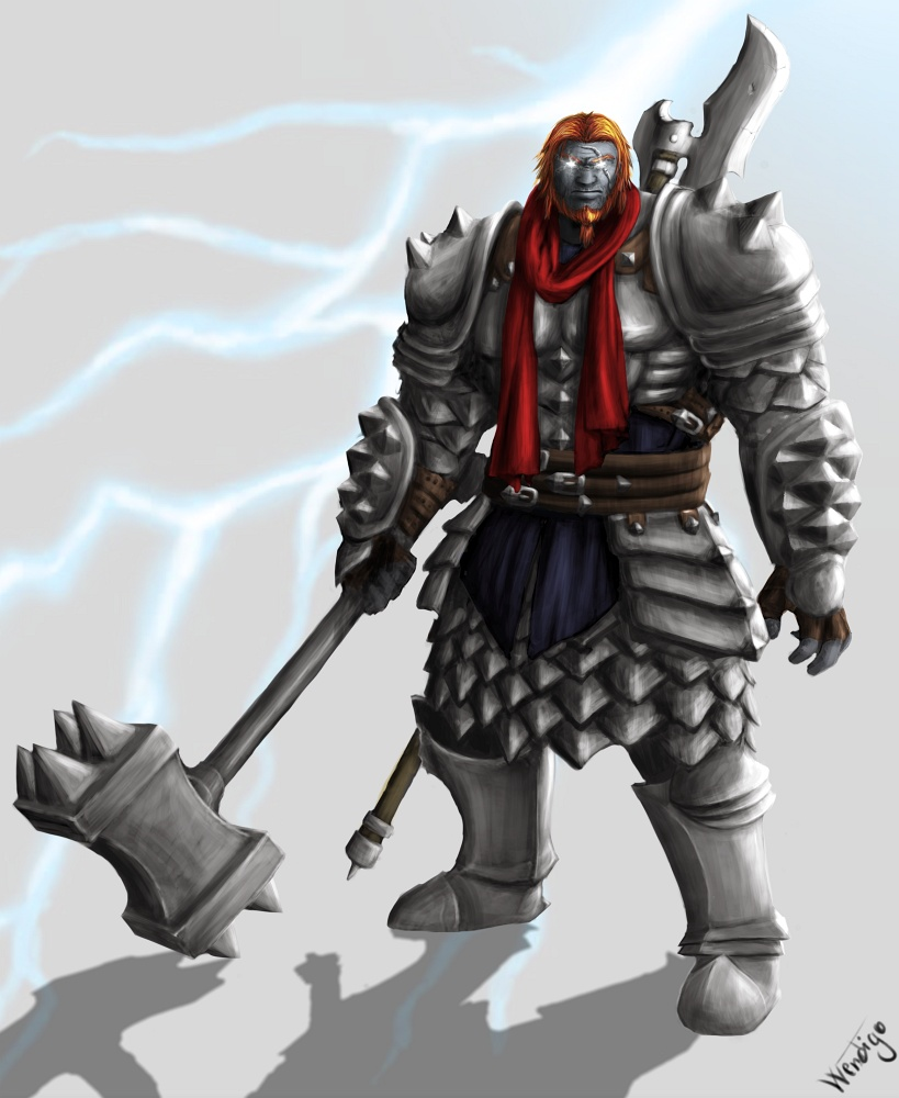 1º Ato: A Ascensão dos Mortos na Grande Cidade das Rotas Half_giant_psychic_warrior_by_wendigometalwolf-d6f7n6e
