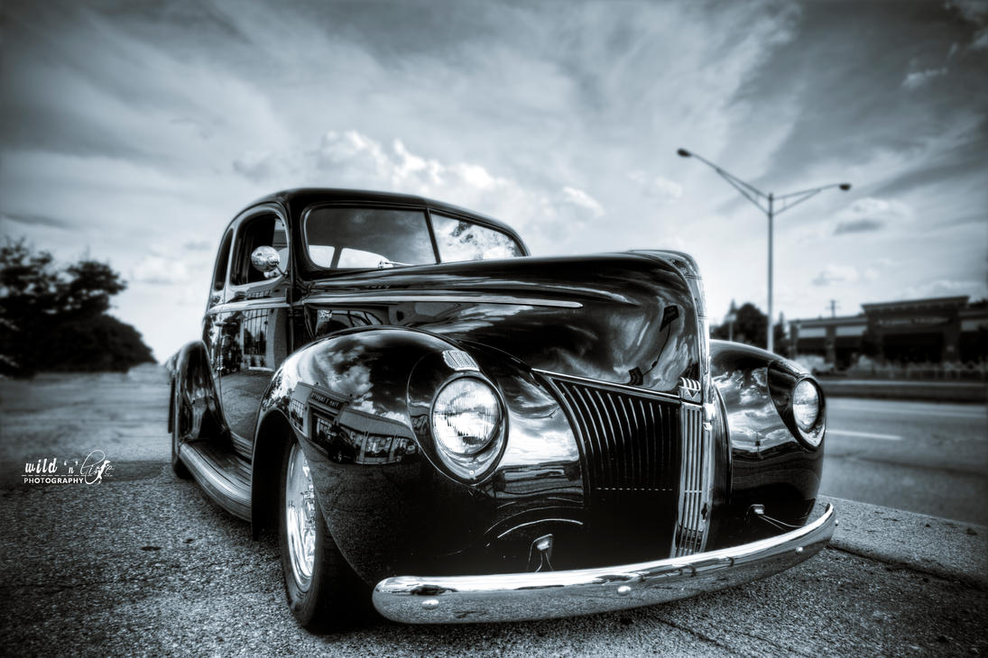 Black Ford by KrisSimon