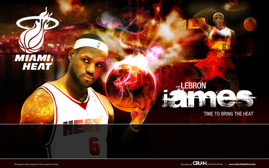 lebron james miami heat pictures. Lebron James - Miami Heat by