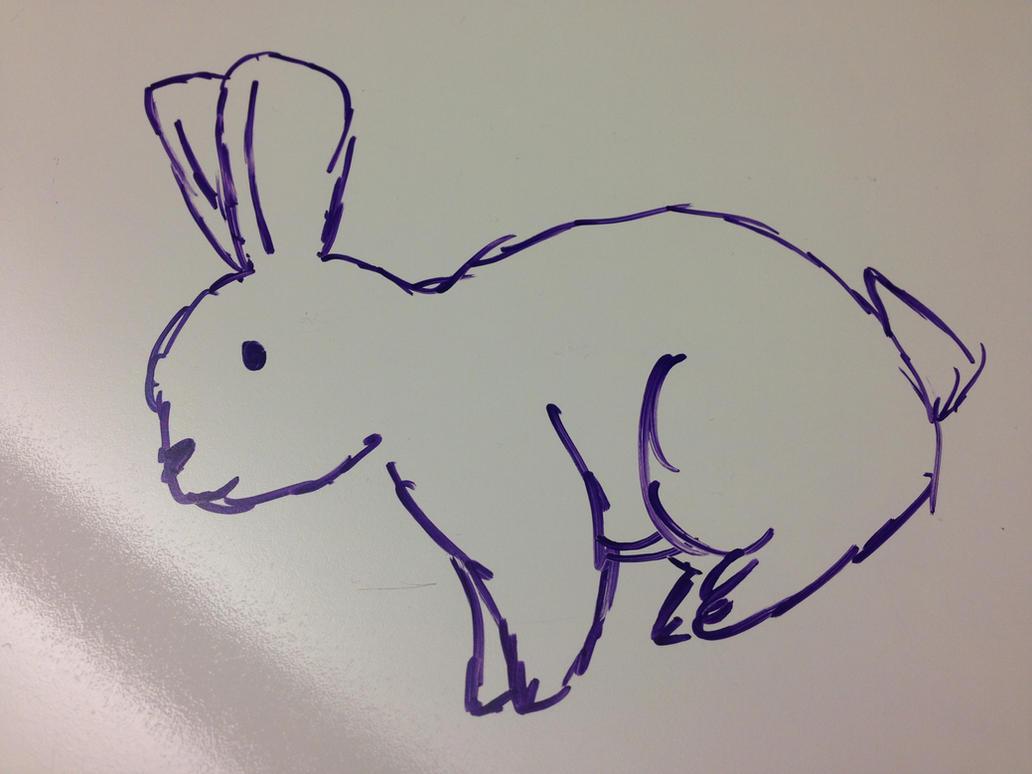 Bunny by RainbowCloudArt