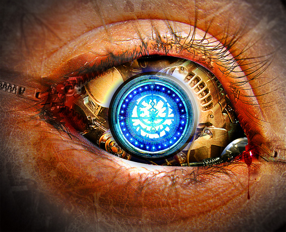 steampunk wallpaper eye - photo #4