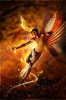 Fallen Angel I - Infernus by InfiniteCreations