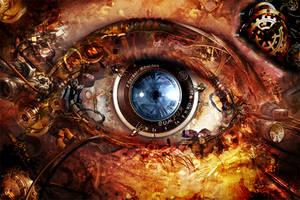 BioMech Eye_ALT by InfiniteCreations