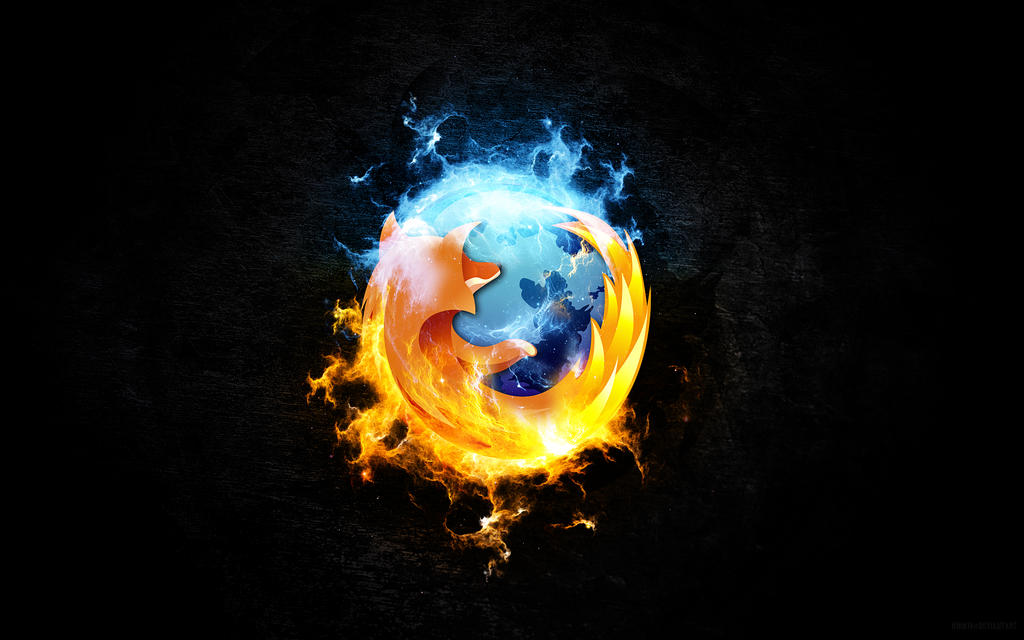 FireFox Is Burning by InfiniteCreations