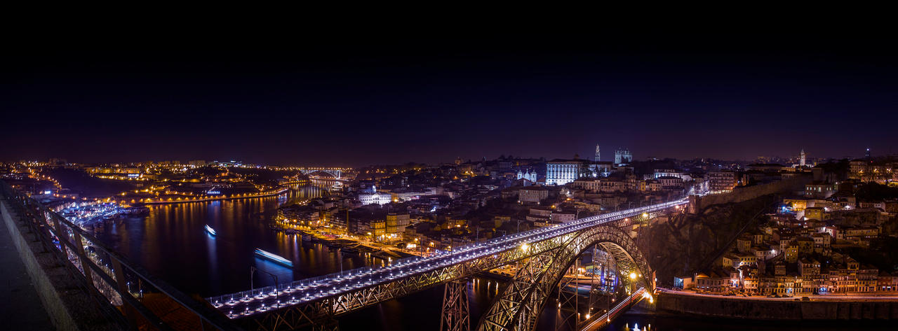 Porto by Night by InfiniteCreations