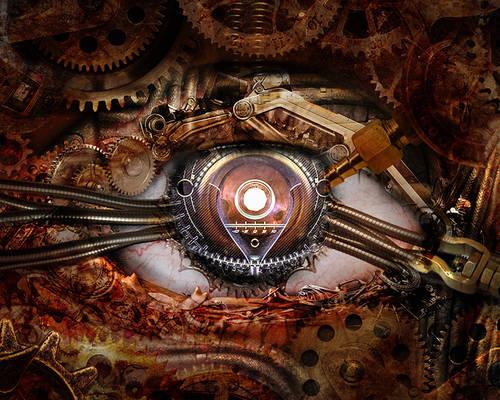 Steampunk Eye I