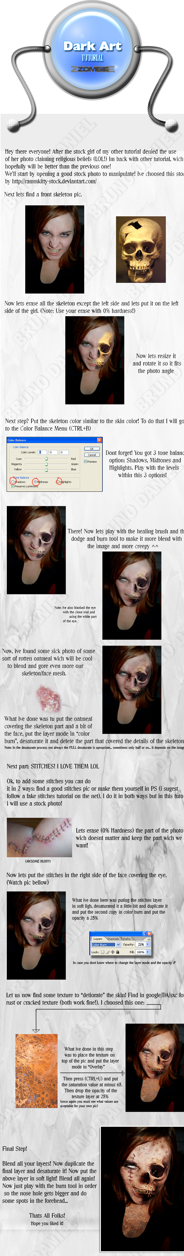 Tutorial Dark Art_Zombie