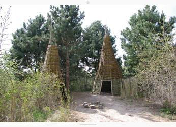 huts by stockkj