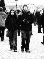 tourists in Prague 5 by FlowerBogy