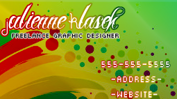 Businesscard example by jujugasm