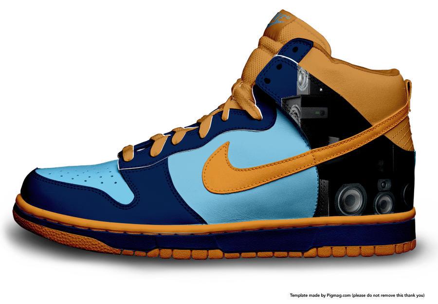 nike shoe by xfrostyhd on deviantart