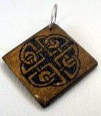 Keychain Celtic Knot II by Ofibel