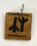 Keychain - runes by Ofibel