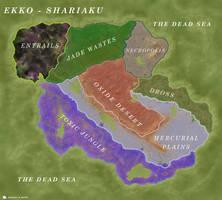 Ekko - Shariaku Island by WorldBuilding