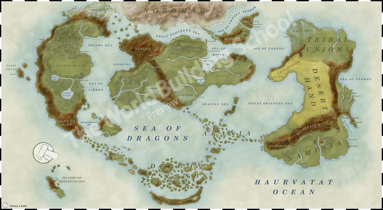 Fates World Map