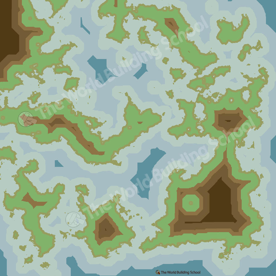 Abstract world map minecraft ish by worldbuilding on deviantart abstract world map minecraft ish by worldbuilding gumiabroncs Gallery