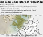 The Map Generator For Photoshop