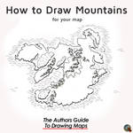 How to Draw Mountains - eBook Cover Design by WorldBuilding