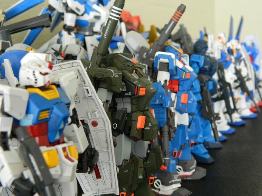Gundam Army by xIGetUm