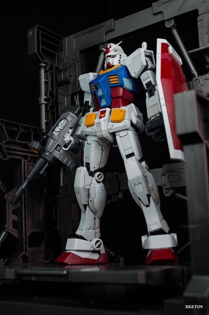 Gundam, Standing By! by xIGetUm