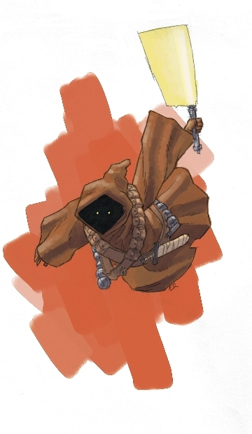 Jawa Jedi by Grey-Coven