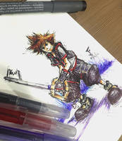Sora KH3 by Jhincx-Faust