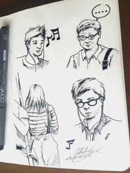 Sg Subway Sketch - Day 3