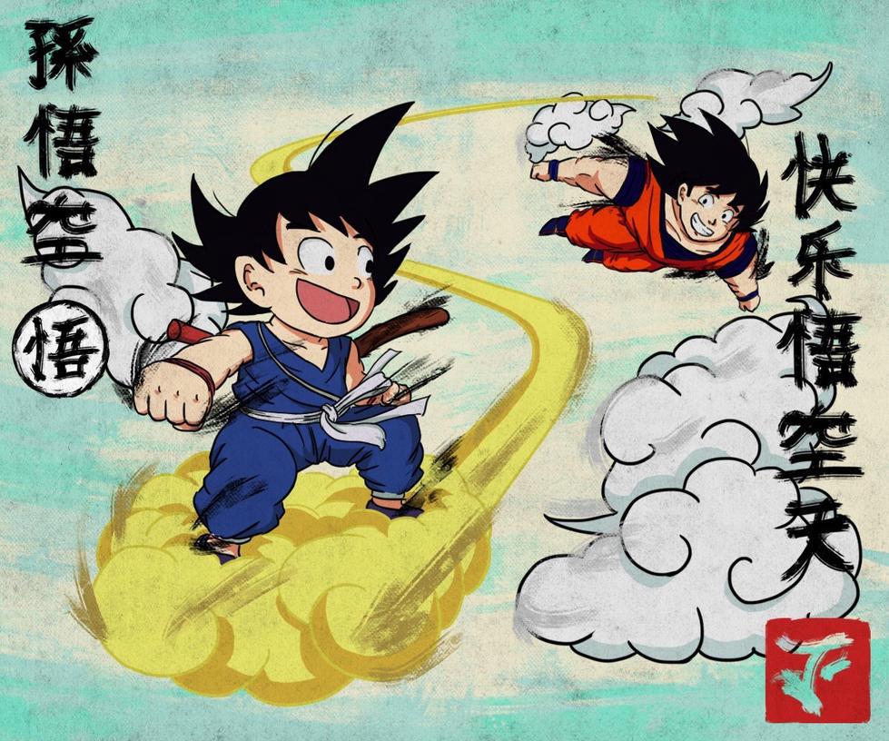 Goku Day by ilikeMADIian