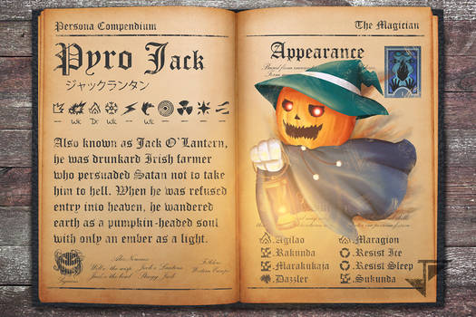 Persona Compendium - Pyro Jack