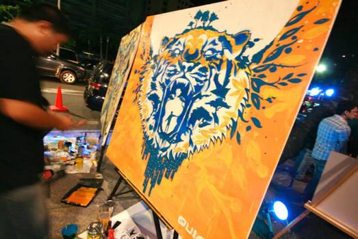 The Tiger Transcends