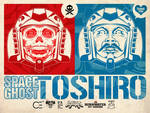 Space Ghost Toshiro Oversized Sticker