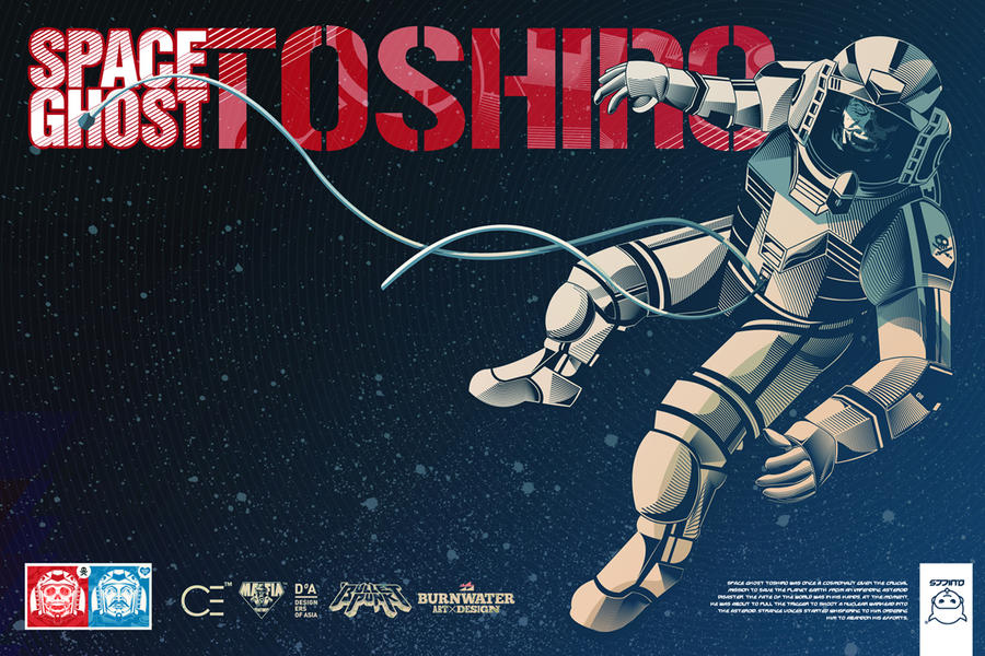 Space Ghost Toshiro Promo Box 2012 by Quiccs