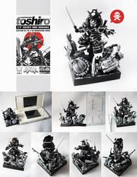 Toshiro XD Mini Diorama 2.5 Inches
