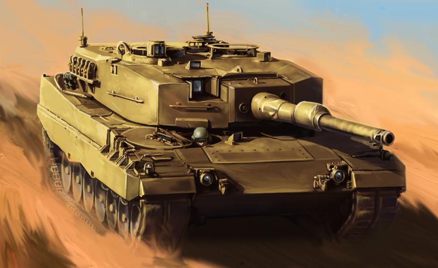 Leopard 2 by alphacat-1