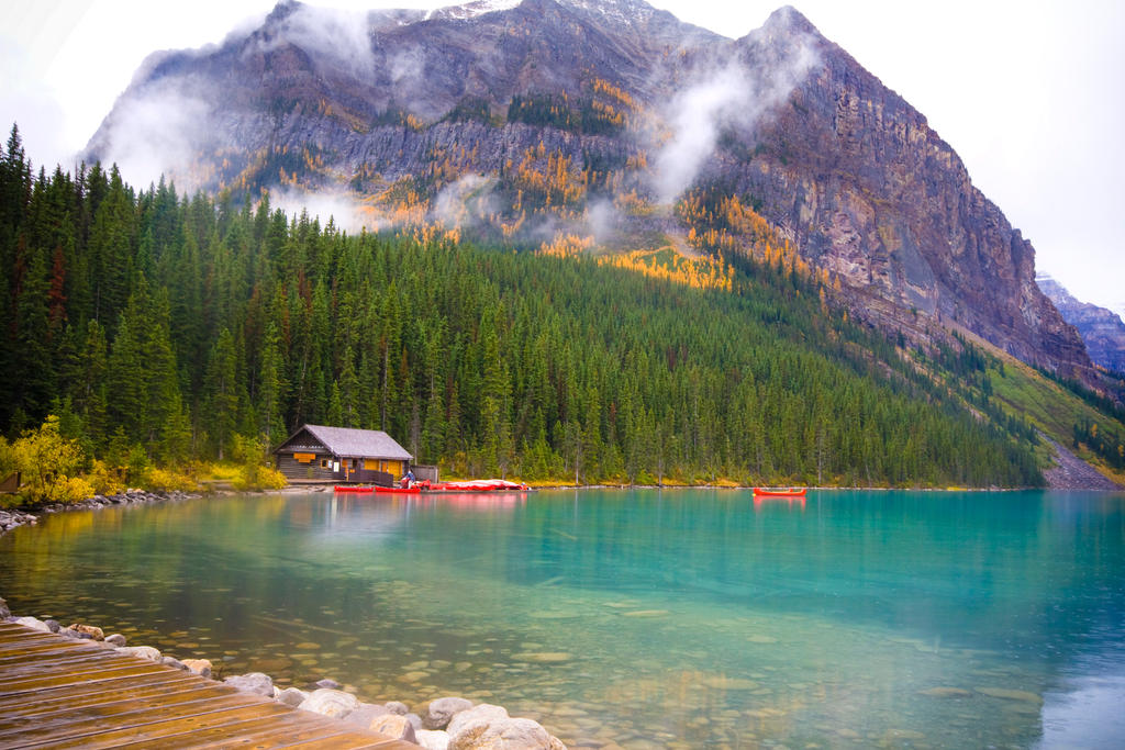 A Cabin On The Lake By Coz Man On Deviantart