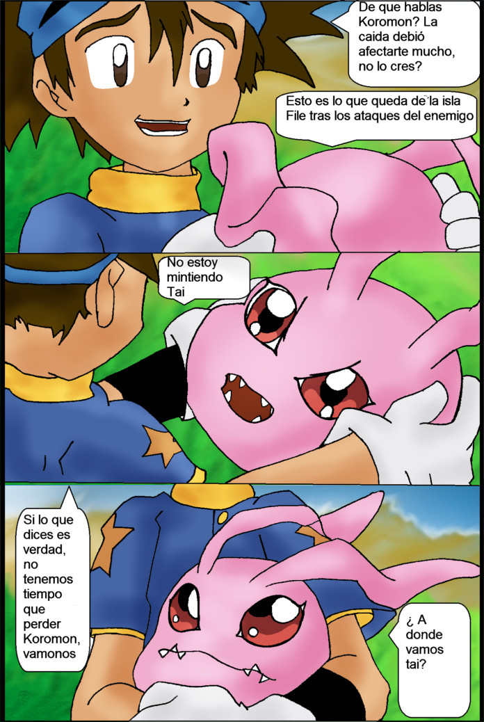 Digimon el Regreso Cap 3 pagina 3 by lindaakari