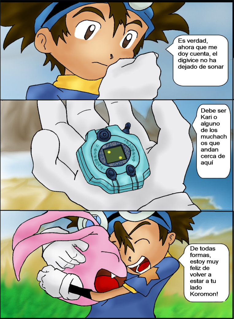 Digimon el Regreso Cap 3 pagina 4 by lindaakari