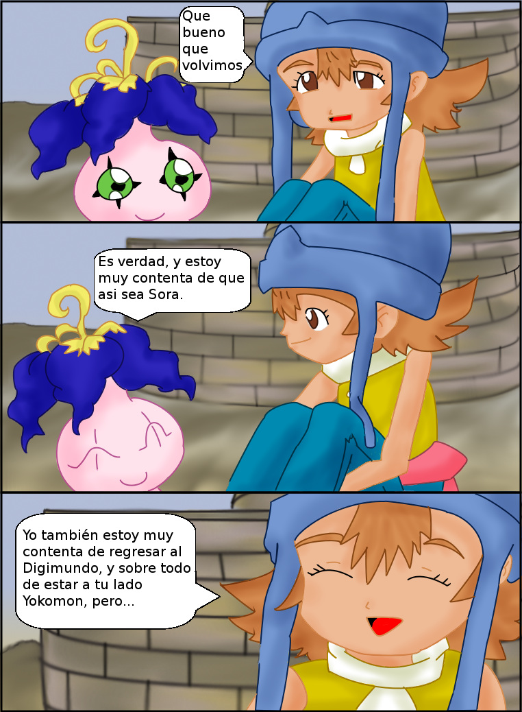 Digimon el Regreso Cap 3 pagina 6 by lindaakari
