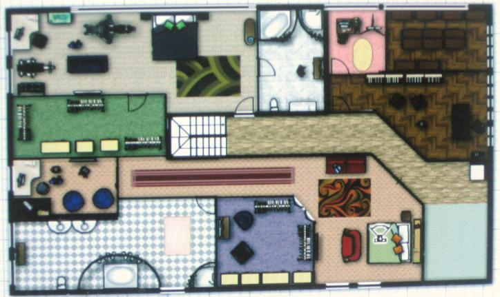Cullen House: 2nd Floor by Aramis-Arya on DeviantArt on police station floor plan, the burrow floor plan, small art gallery floor plan, dreamhouse rooms floor plan,