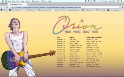 Orion - Website