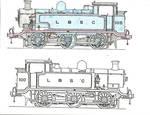 E2 Line Drawings w Colour