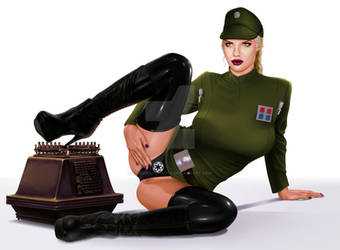 Lieutenant Eleisa Reytal - Imperial Intelligence by thegreatshaggy