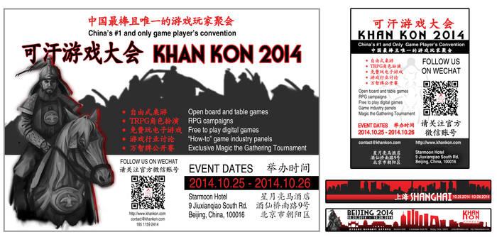 Khan Kon 2014!