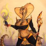 Venomous Enchantress  [Not Cannon Artwork]