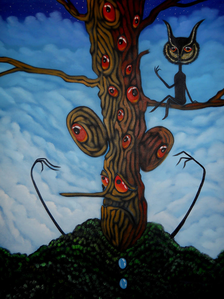 the last tree II by Alizadeh-Art