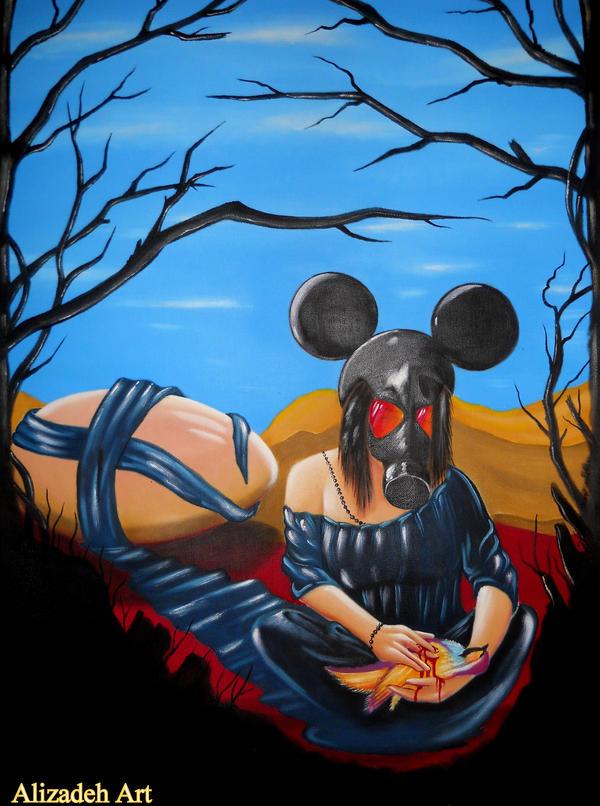 Veil of oblivion by Alizadeh-Art
