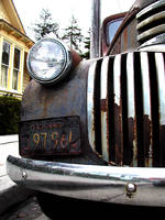 rusted truck by redtrain66