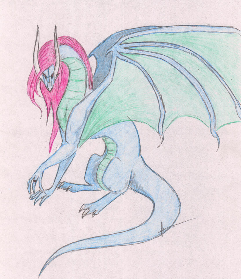 Utena Dragon by CuriousInferno