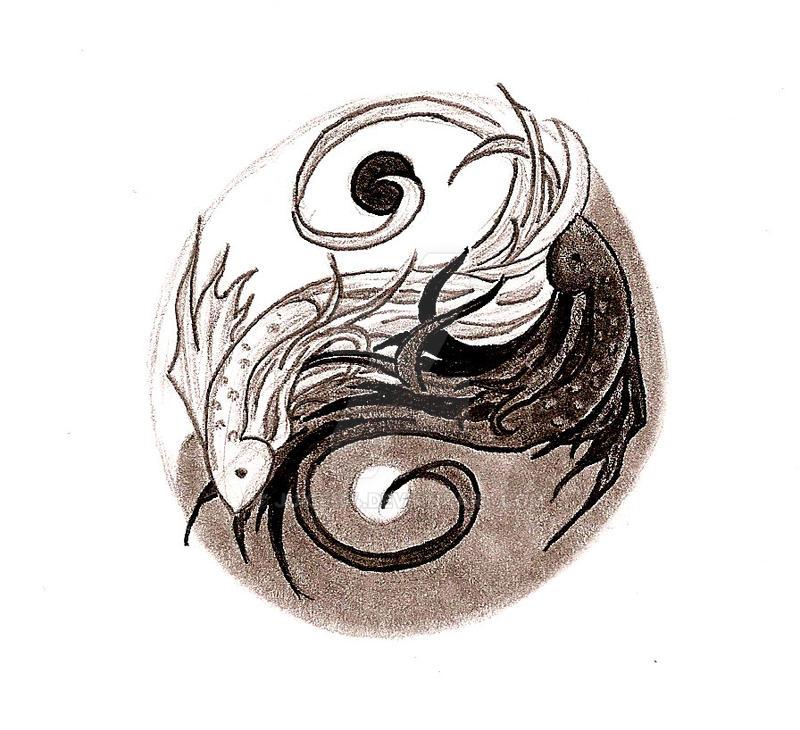 1fb443e4a Ying Yang Fish by Juice-04 on DeviantArt