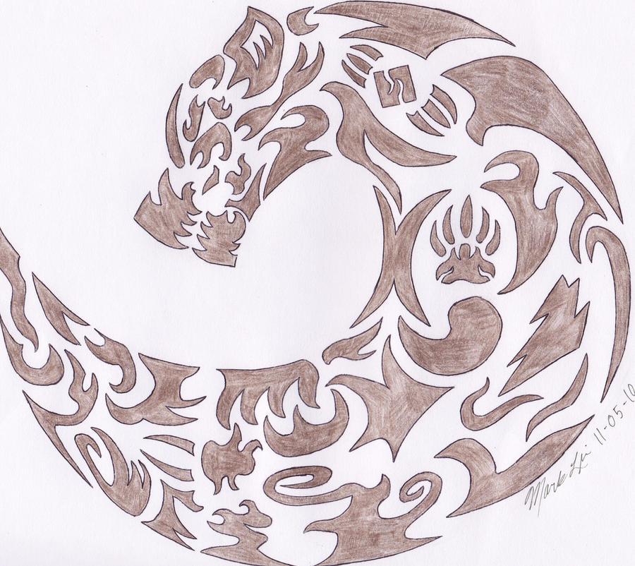 bear symbol by wolfraid on deviantart